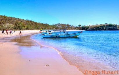 Indahnya Pantai Pink di Lombok