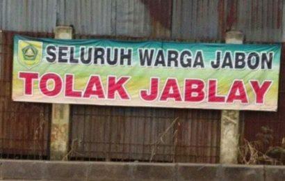 Tolak Jabon, Jablay Kebon