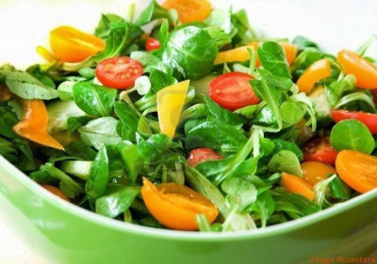Salad sudah mulai digandrungi warga Indonesia