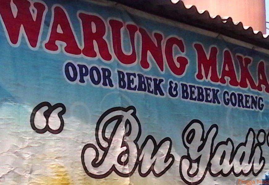 Opor Bebek Rumah Makan Bu Yadi Yogyakarta