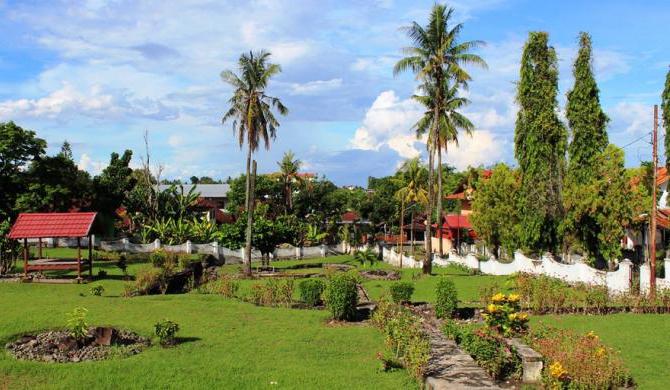 Pemandangan di Makam Agung Soppeng di Sulawesi Selatan