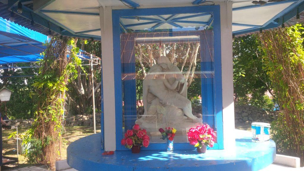 Patung Bunda Maria dari Vatikan di Kabupaten soppeng