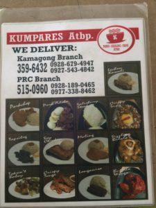 Menu Makanan di Kumpares