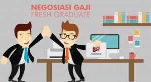Freshgrad harus berani nego gaji