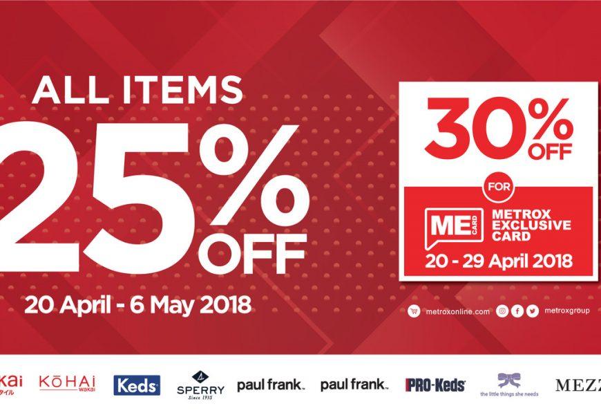 Rayakan Hari Kartini, METROXGROUP Diskon 25% Untuk Produk #WEHONORYOU