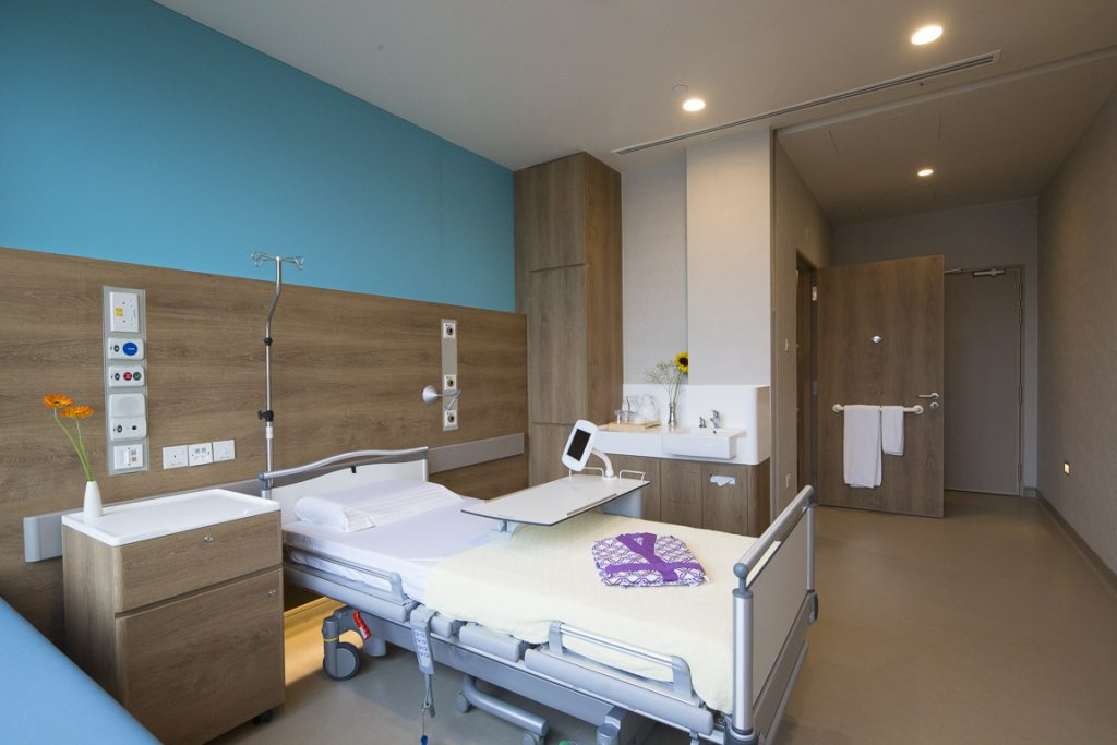 Farrer Park Hospital Single bedded room