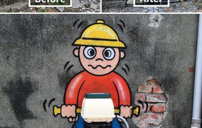 Kumpulan Street Art di New York yang Keren Abis