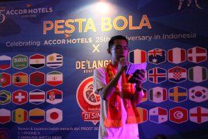 Nobar Pesta Bola Mercure Jakarta Cikini