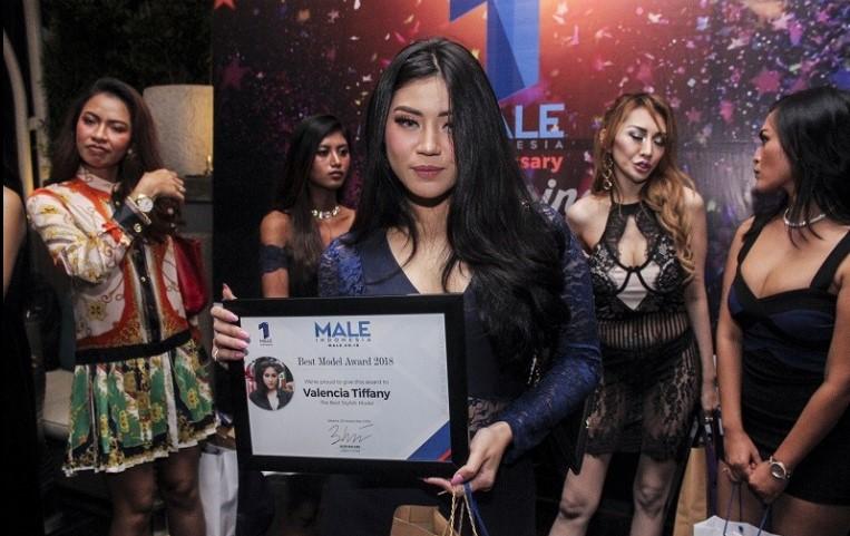 Valencia Tiffany, model Male Indonesia