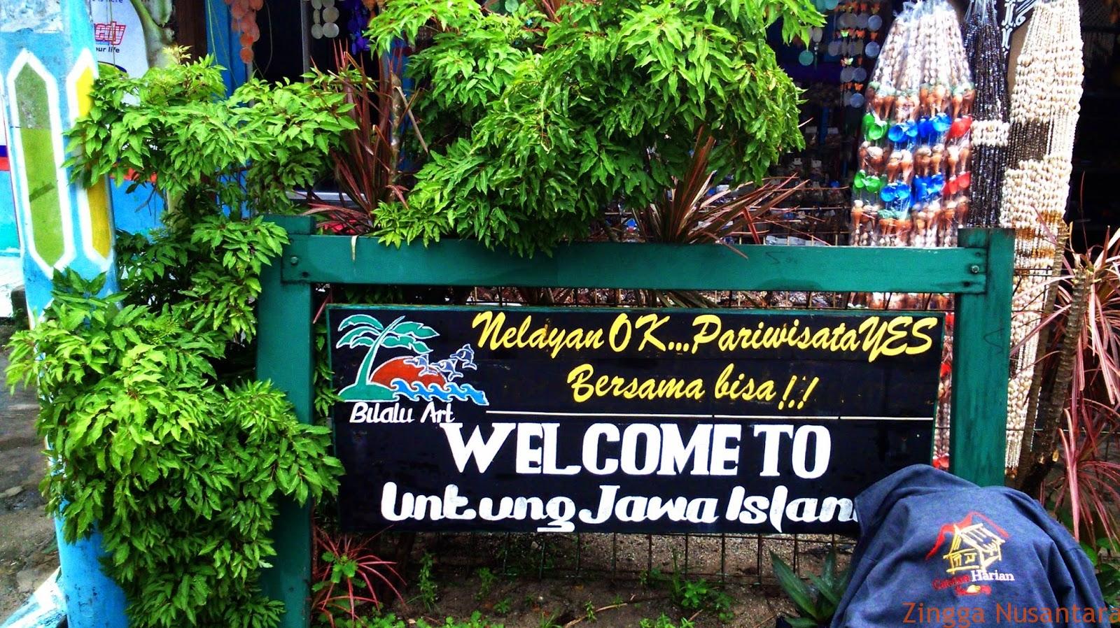 Kata Sambutan di Dincing Pulau Untung Jawa