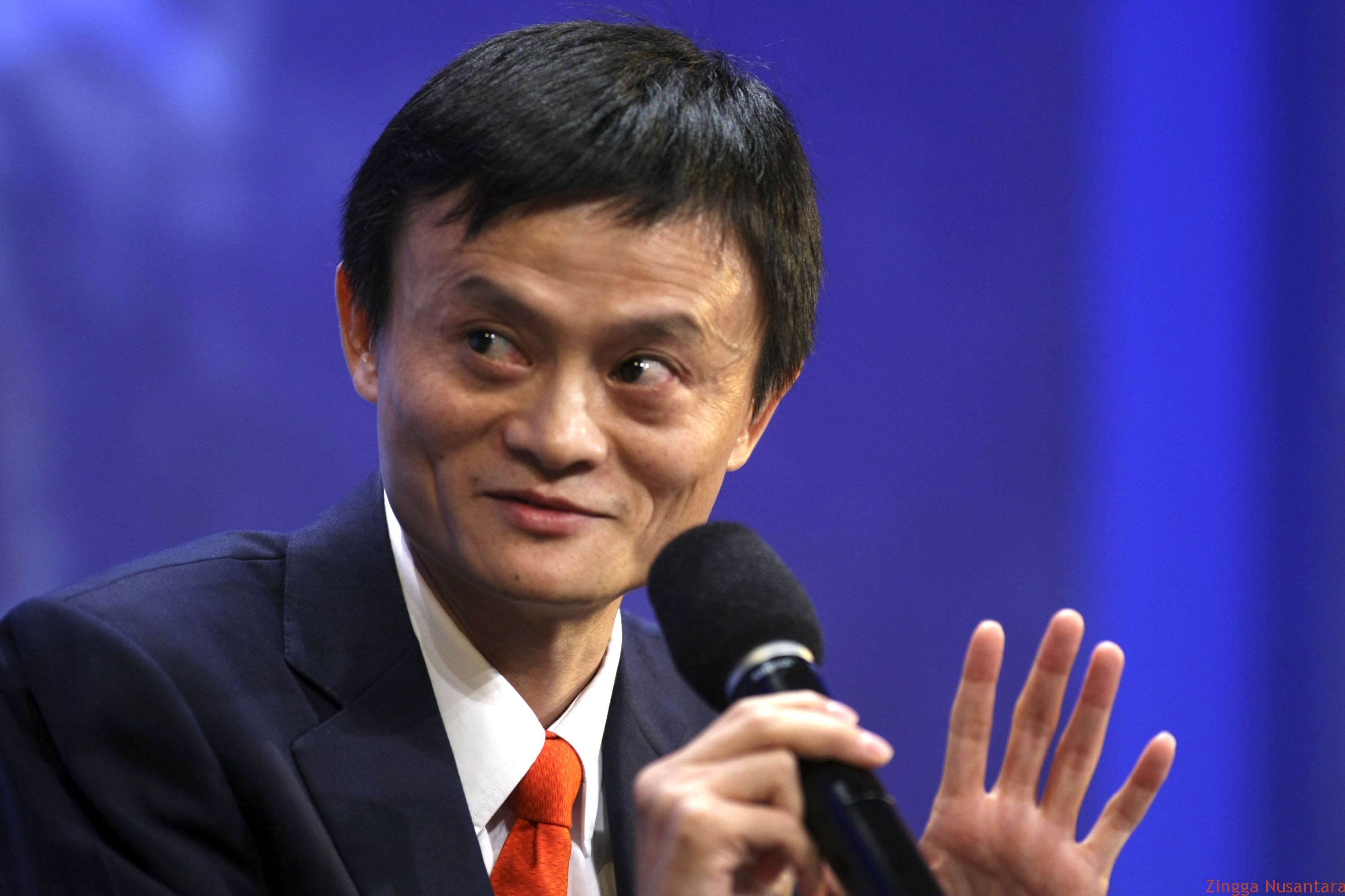 Jack Ma, chairman and chief executive officer of the Alibaba Group yang merupakan orang Tionghoa.