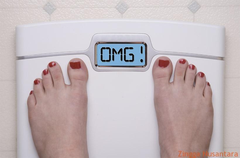 Menurunkan berat badan adalah impian bagi semua orang yang over. Foto by Bagaimana.co