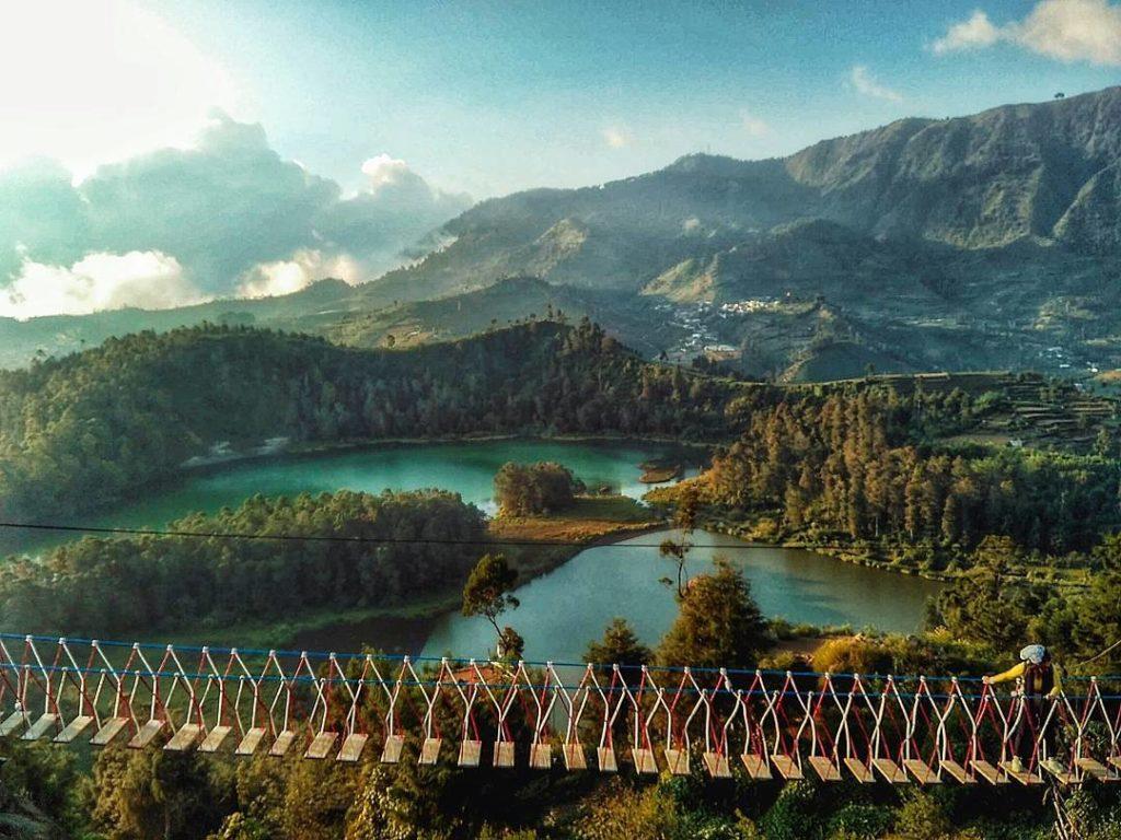 Profil Tempat Wisata Batu Ratapan Angin Dieng Jawa Tengah