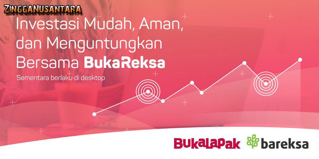 Bukalapak membuat kerjasama dengan Bareksa untuk memudahkan customer berinvestasi
