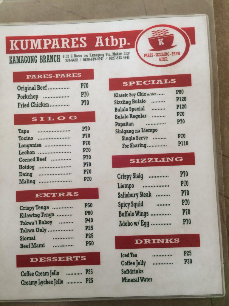 Makanan paling favorit di Kumpares