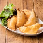 Fried Cheese Gyoza