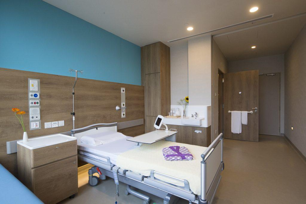 Farrer Park Hospital Single bedded room