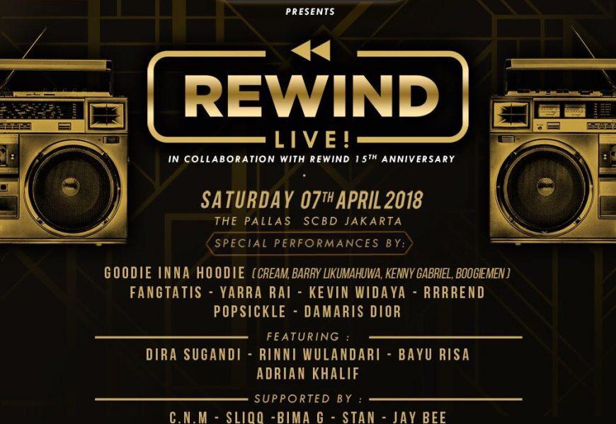 Rewind Live, Perayaan 15 Tahun Urban Party dari Soul Menace dan Supreme Premium Condoms