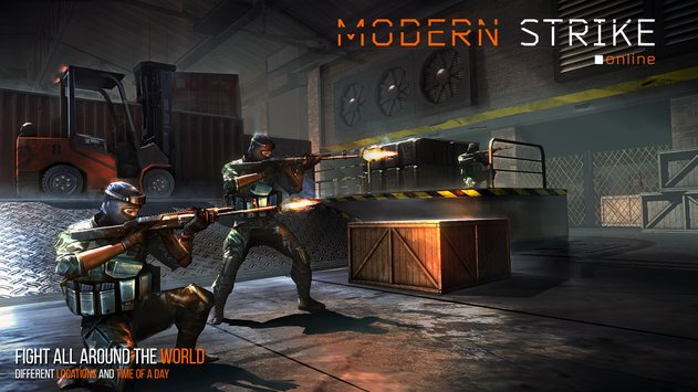 Modern Game Strike Online