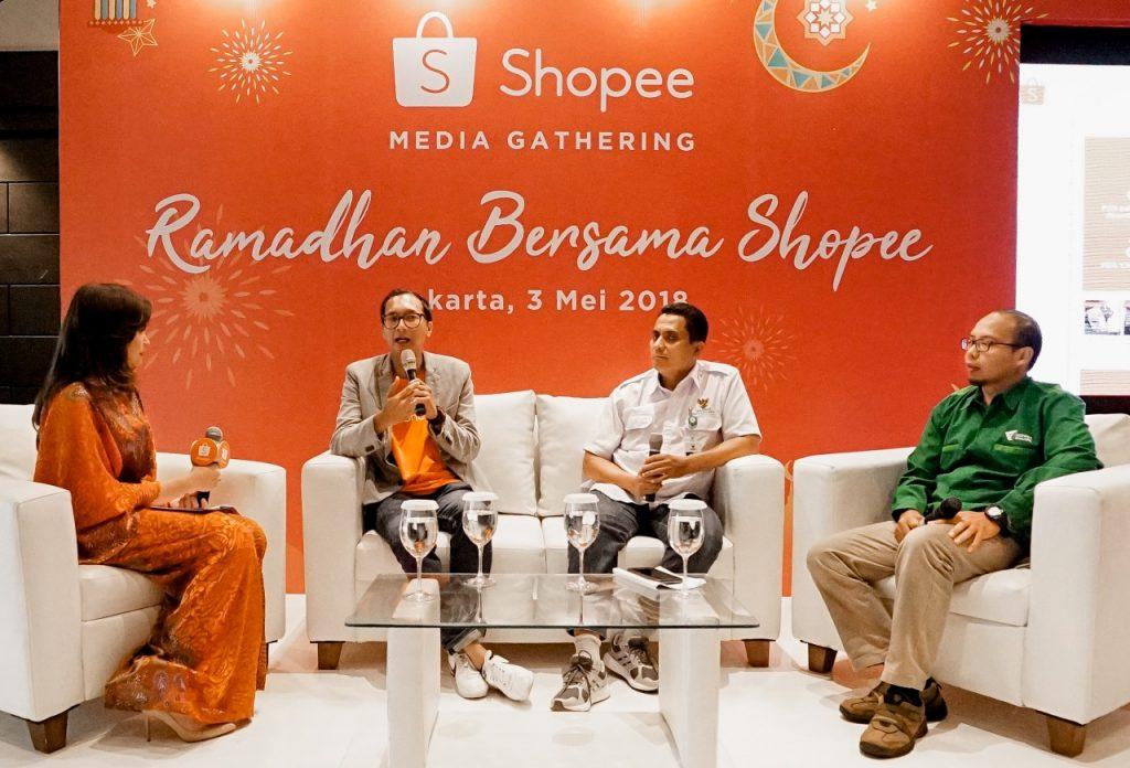 Shopee, Dompet Dhuafa, BAZNAS