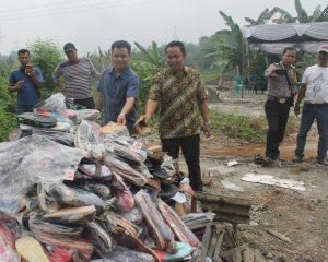 Wakai Bersama Kepolisian Musnahkan Ribuan Produk Wakai Palsu