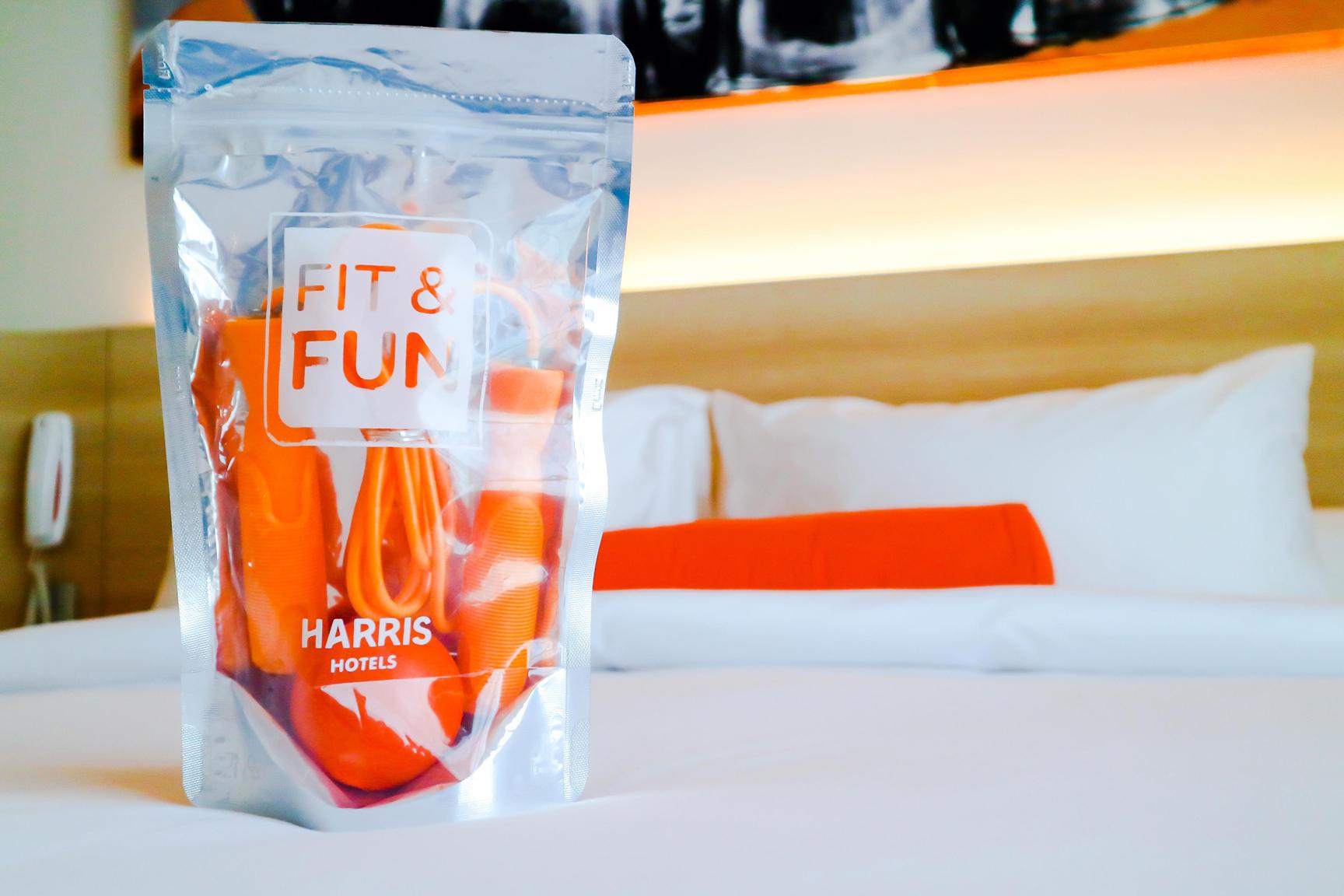 HARRIS Hotels Meluncurkan Paket Fit & Fun