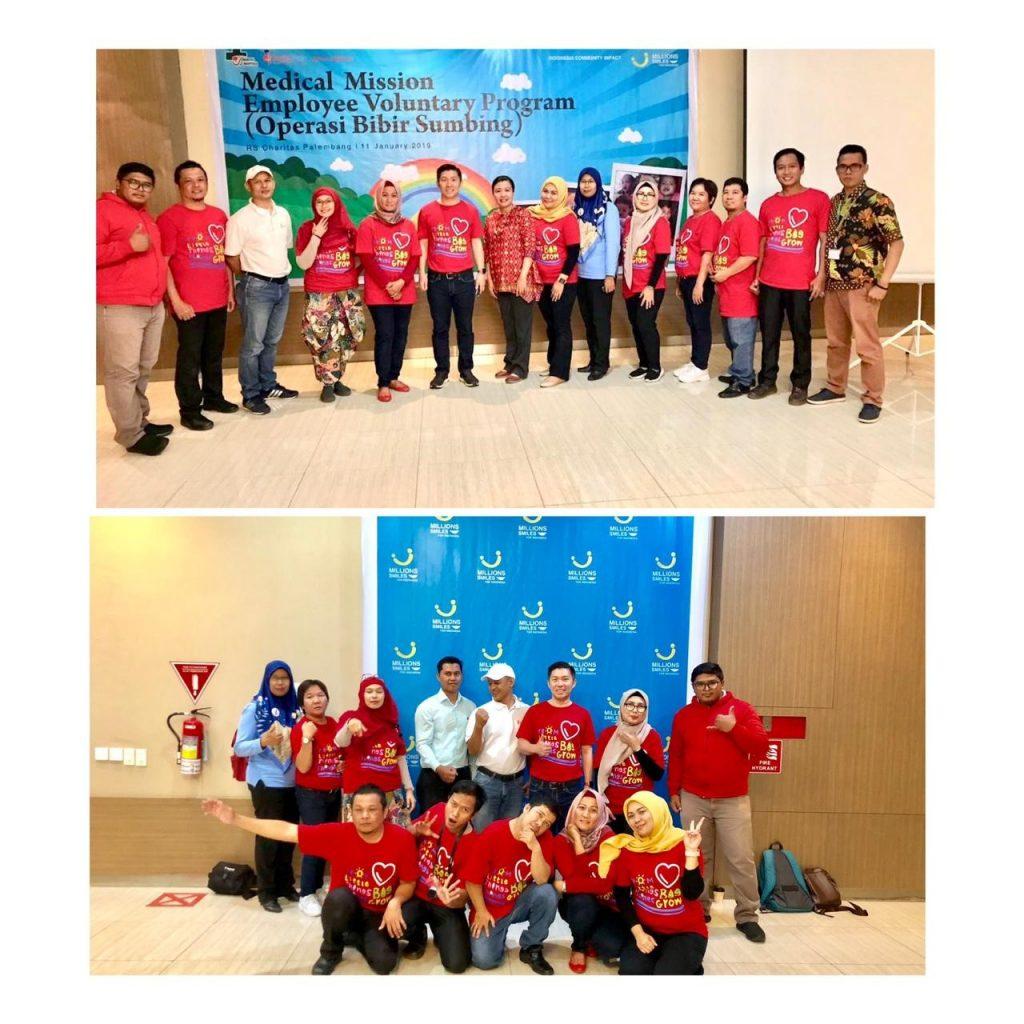 J&J Indonesia_Employee Volunteers pose together