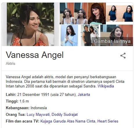 Vanessa Angel Prostitusi Online