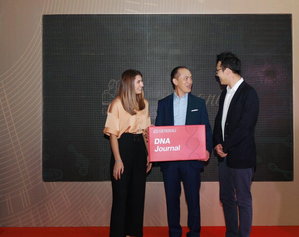 (ki-ka) Ms. Mia Baker (Partnership Implementation & Project Manager of Prenetics), Bapak Edy Tuhirman (CEO Generali Indonesia), Mr. Clifford Chow (Deputy General Manager, South East Asia of Prenetics)