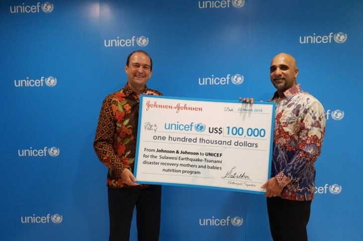 Johnson and Johnson Sumbang Dollar ke UNICEF