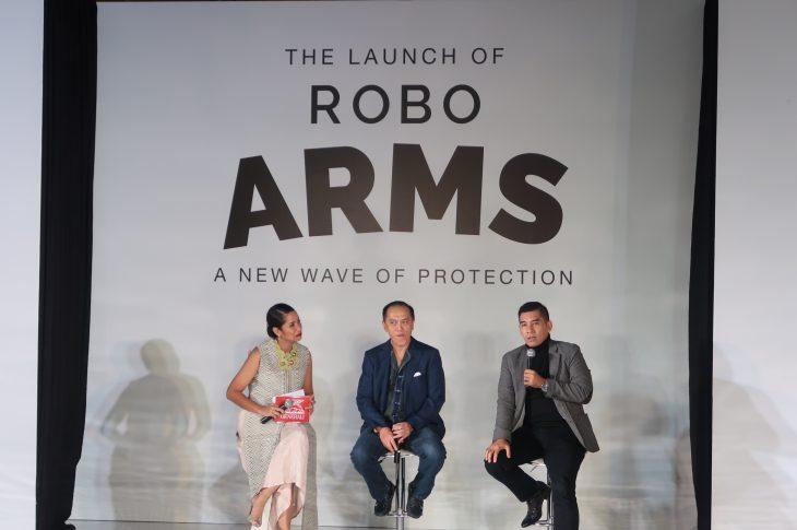 Robo Arms, Inovasi Auto Kendali Unit