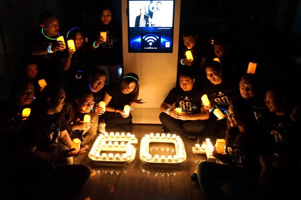 Grand Mercure Jakarta Harmoni Dukung Program Earth Hour 2019