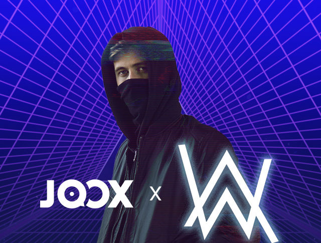 "JOOX Mengajak Pengguna Membagikan playlist ""Best of Alan Walker"""
