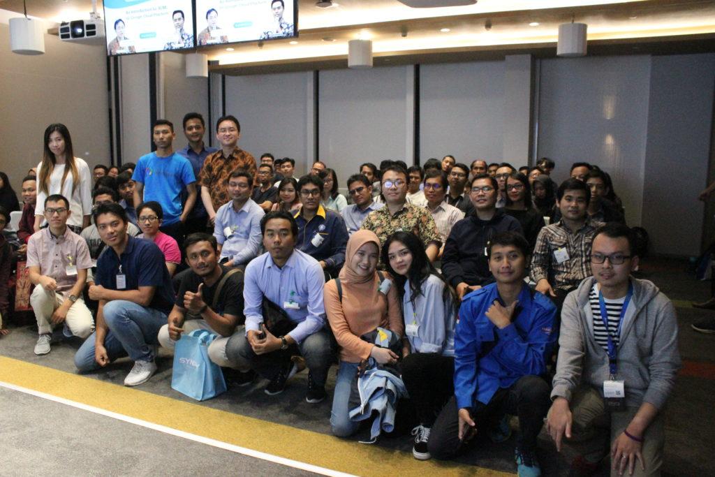 Acara ini dihadiri oleh 100 peserta