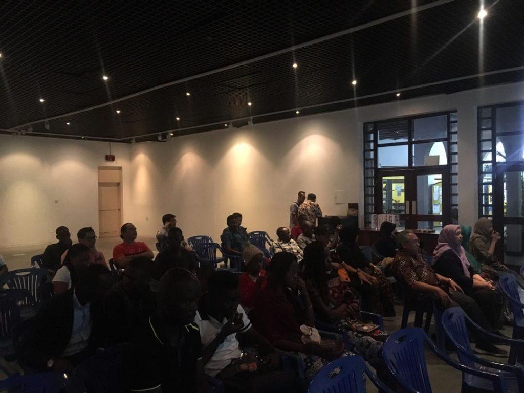 Penyelenggaraan Festival Film Indonesia Pertama dan Pelepasan Penerima Beasiswa Indonesia