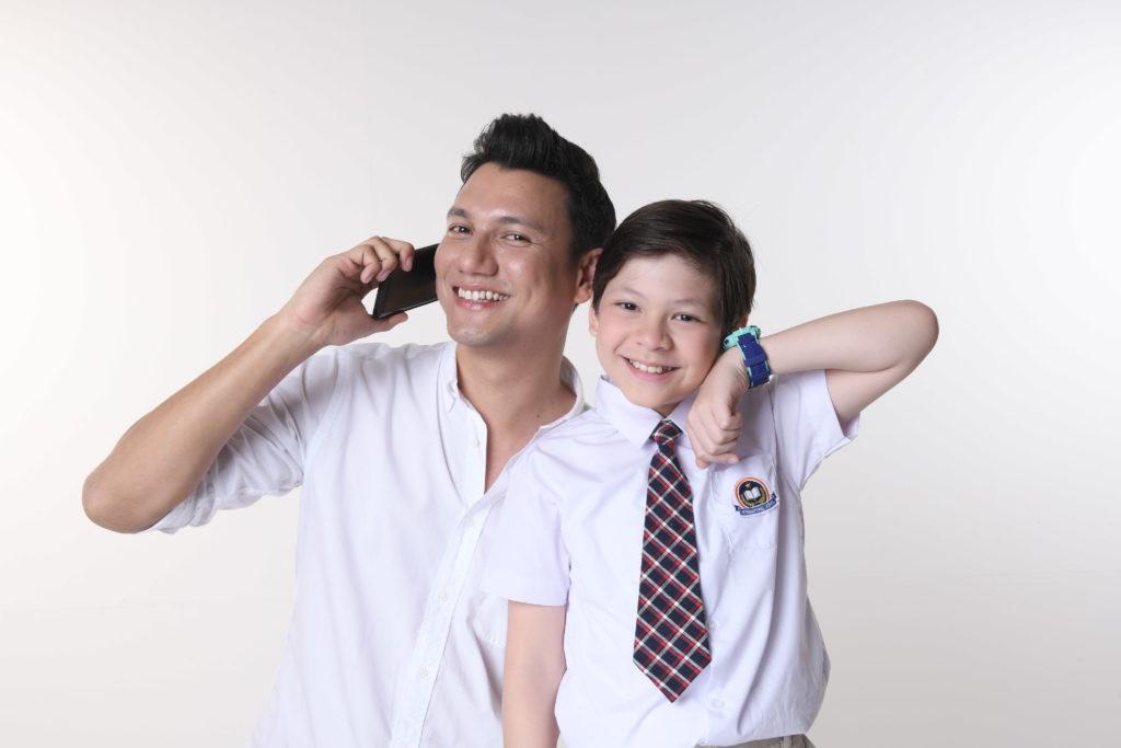 Christian Sugiono dalam menjawab tantangan parenting orang tua millenial