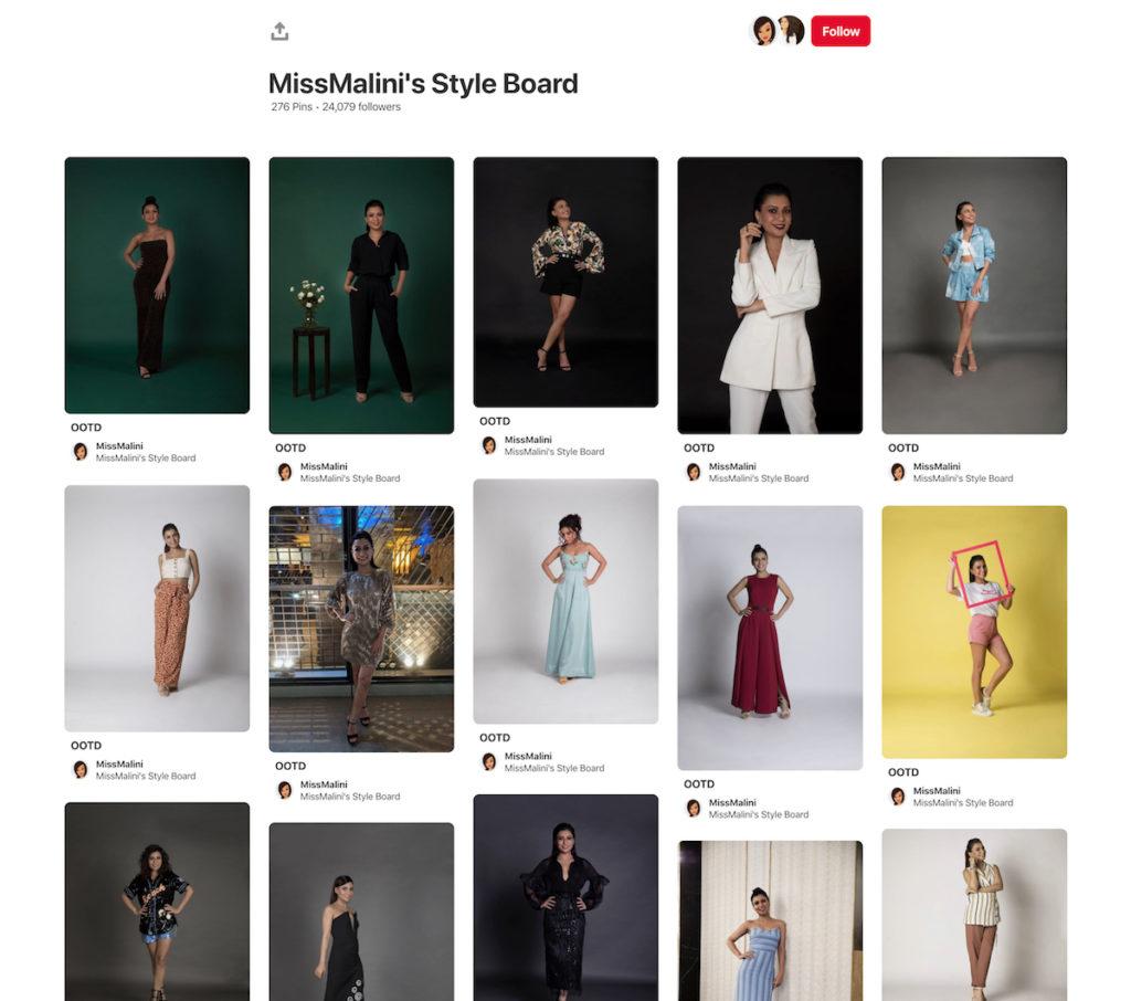 MissMalini's Style Board
