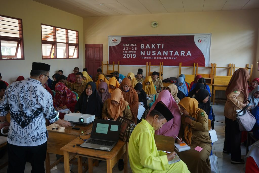 Pelatihan Guru SD dan SMP oleh Pengurus Besar Persatuan Guru Republik Indonesia.