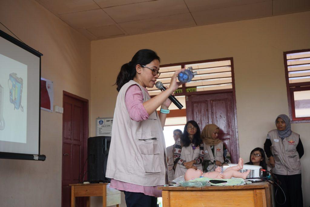 Bakti Nusantara 2019 Natuna - Pelatihan untuk Tenaga Kesehatan Lokal tentang Kesehatan Ibu Hamil