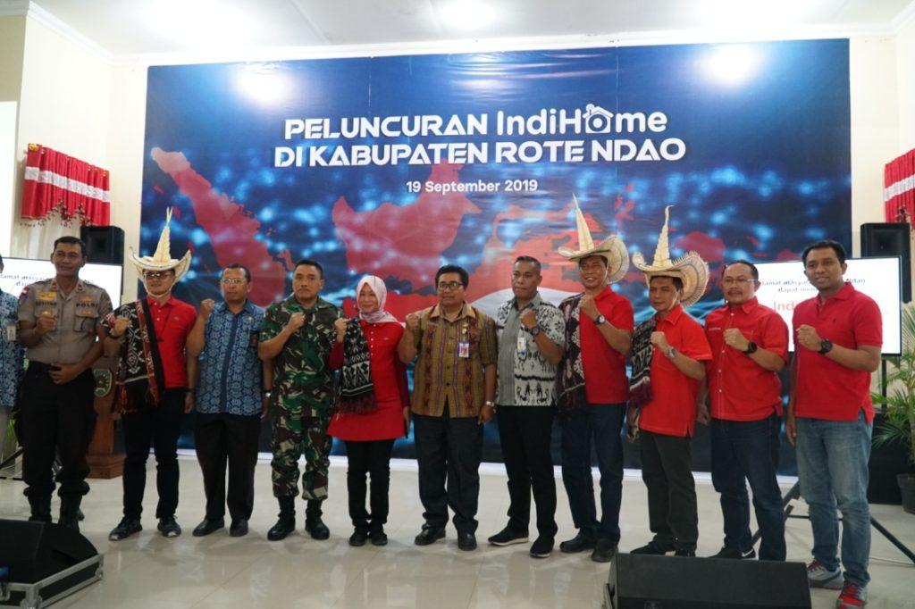 Dukung Digitalisasi Indonesia Hingga Wilayah 3T, IndiHome Kini Hadir di Pulau Rote