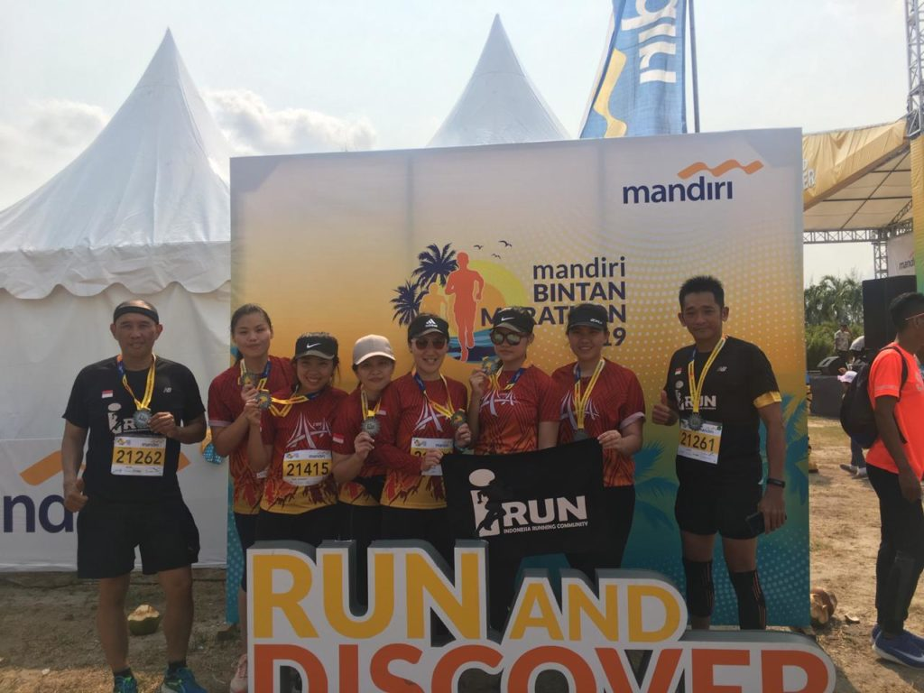 Mandiri Bintan Marathon 2019 Lebih dari 3.000 peserta dari 35 Negara