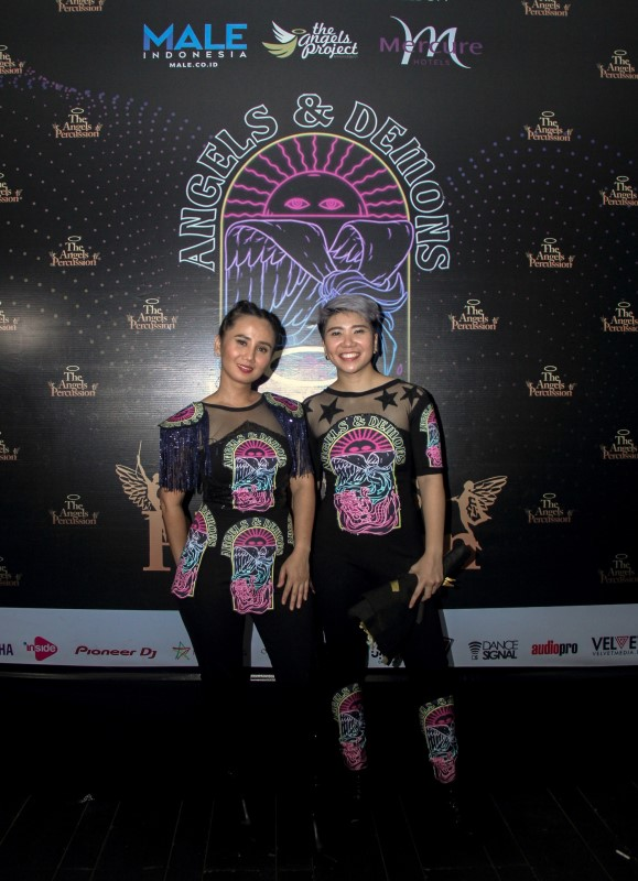 The Angels Percussion berkolaborasi bersama Male Indonesia dan Mercure Jakarta Cikini