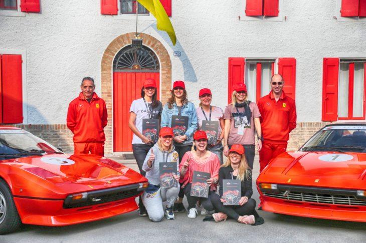 Mobil Klasik Ferrari Classiche Academy terbagi menjadi beberapa modul berkendara di lintasan