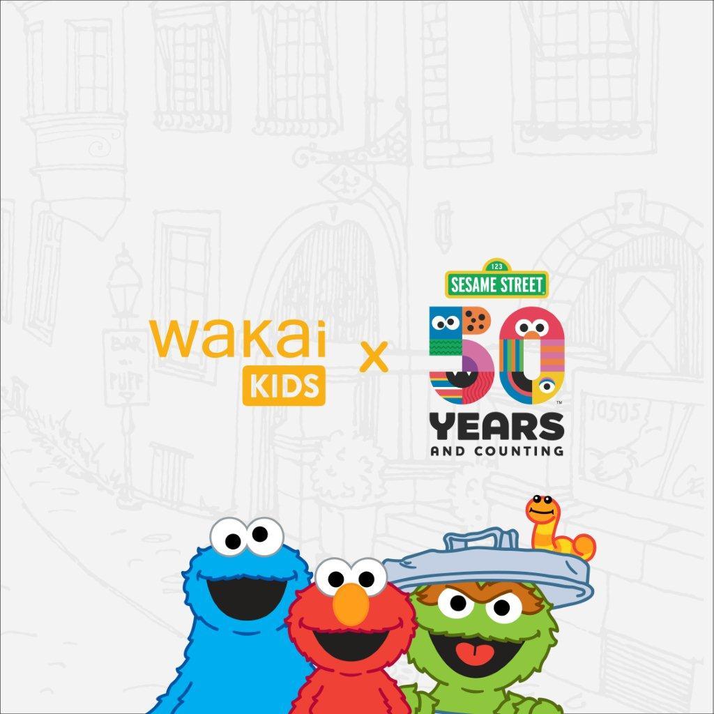 Wakai Kids X Sesame Street