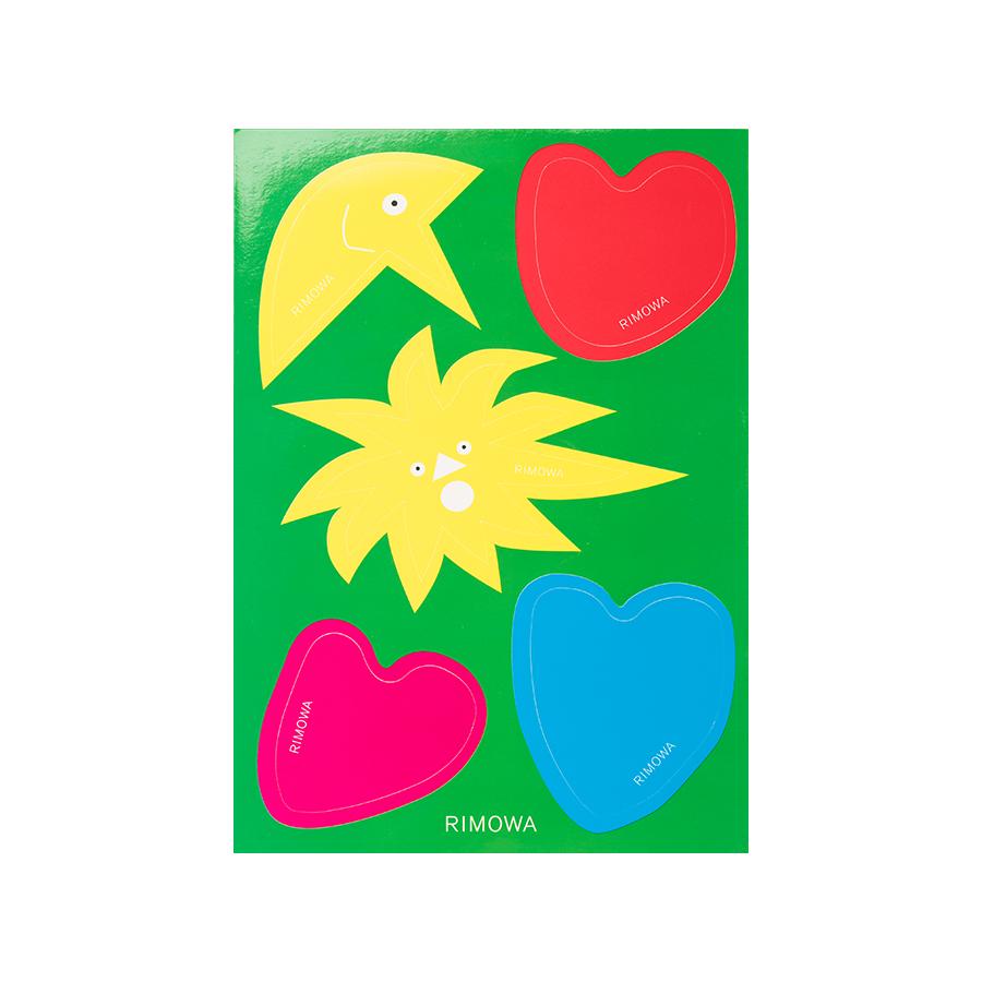 Sticker Rimowa Abstrak