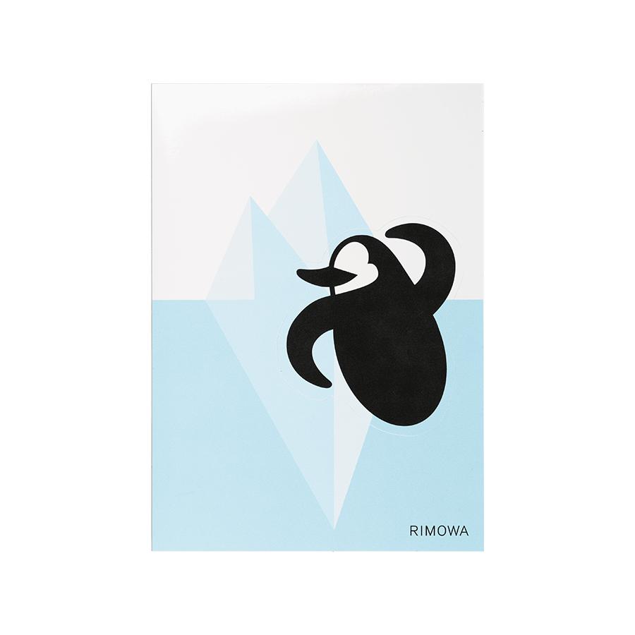 Sticker Rimowa Pinguin