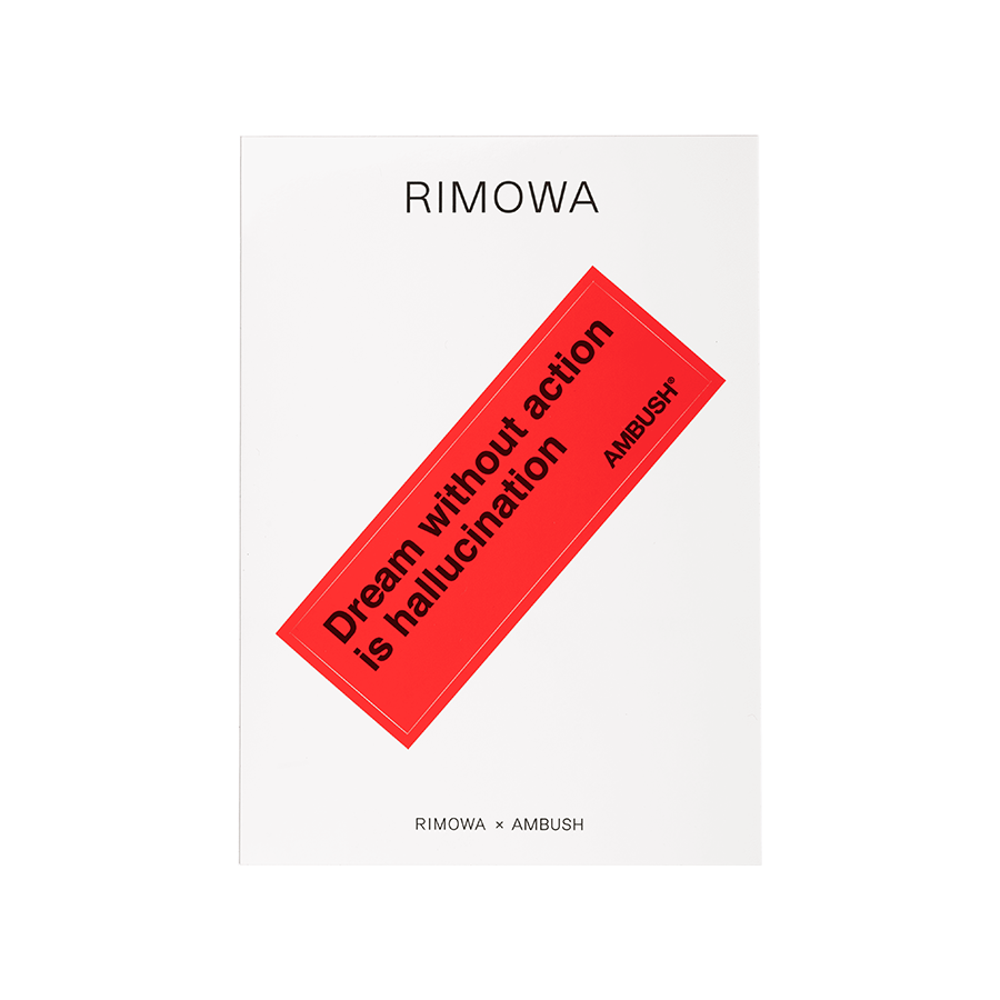 Sticker Rimowa