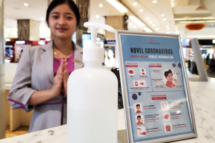 Lotte Shopping Avenue Lakukan Tindakan Pencegahan Penyebaran Wabah Virus Korona