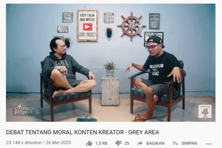Grey Area Martin dan Coki Pardede Zingga Nusantara