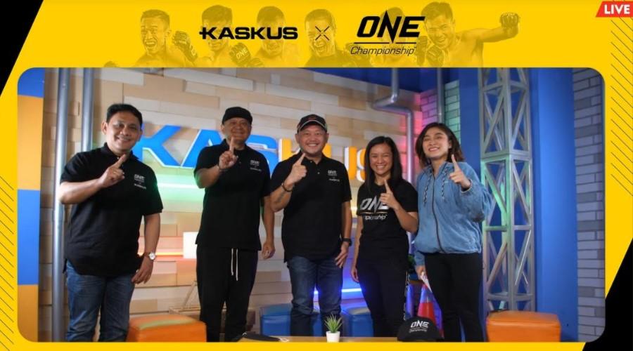 Kolaborasi One Championship dan Kaskus Networks